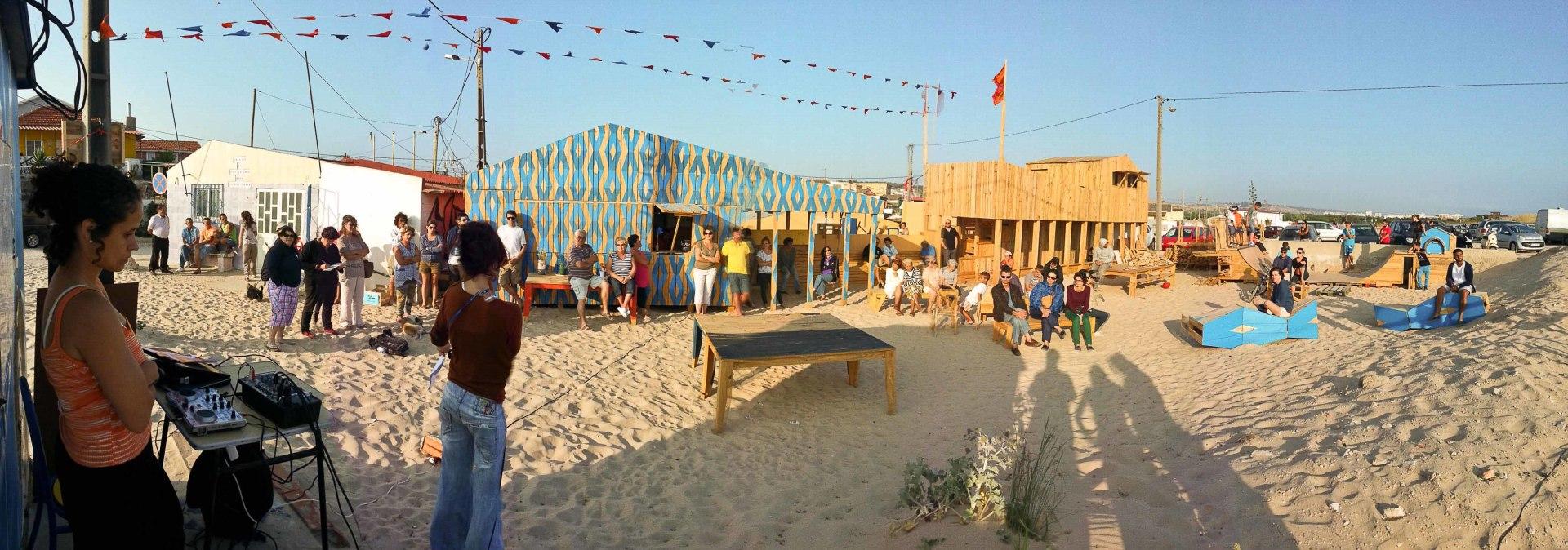 A cozinha da Casa do Vapor / Crisis Buster / Lisbon Architecture Triennale / Cova do Vapor / PT
