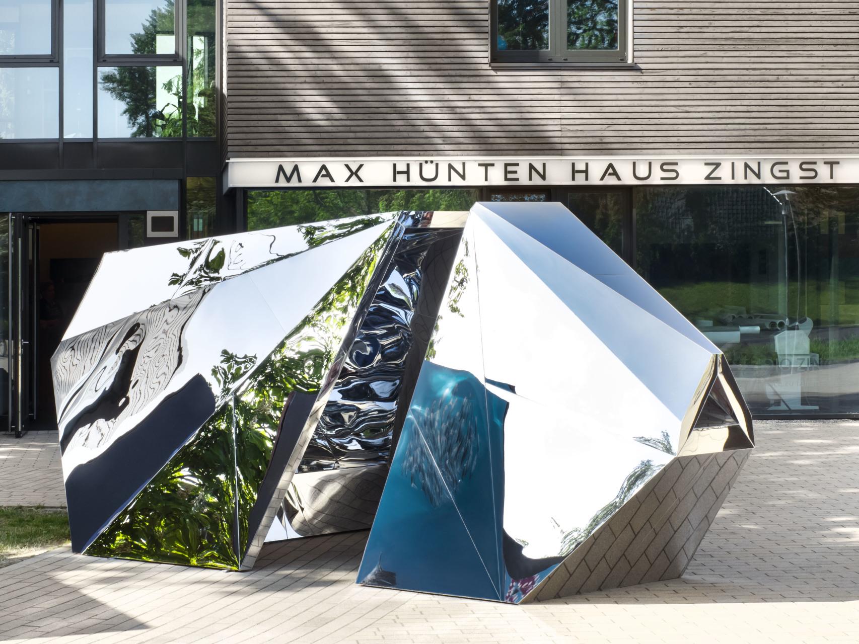Taumascopio / Origami Mirror Kaleidoscope Art Installation / HorizonteZingst / Zingst / DE